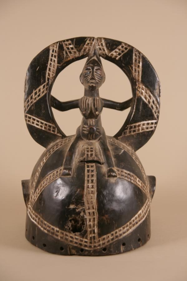 Helmet for tribal dance by Senufo