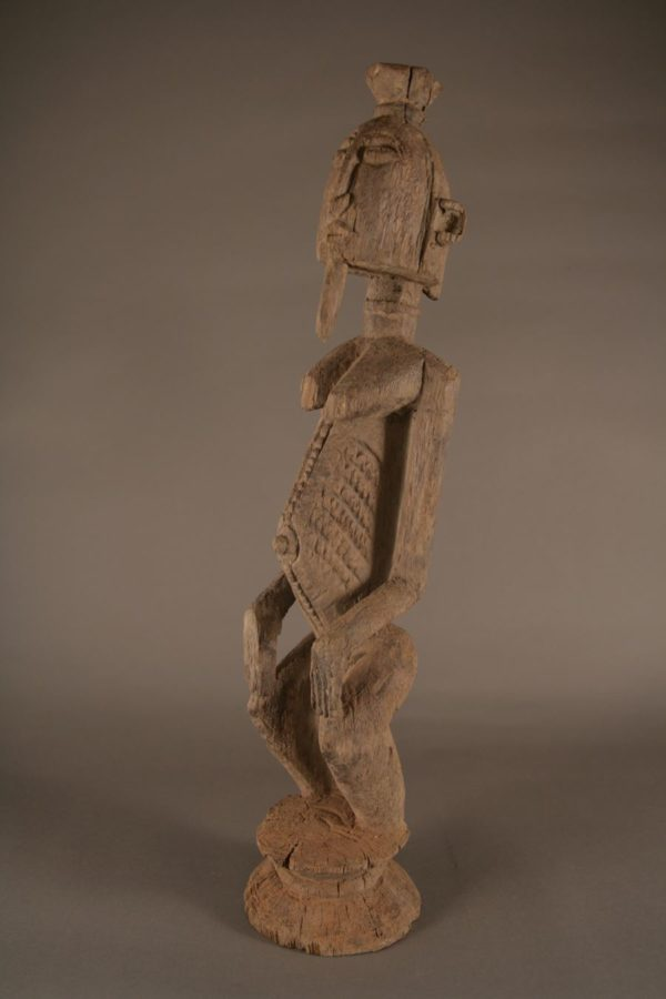 Dogon statue of a sage